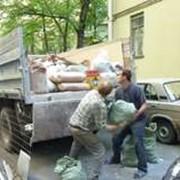 Вывоз строительного мусора фото