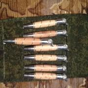 Шампуры в наборах с тестолитовыми ручками и литьем фото