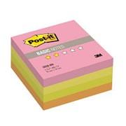 Post-it Basic Куб 3M Post-it 2028-BN Basic 76х76мм, 400л, неоновая радуга фото