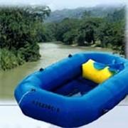 Лодка резиновая надувная гребная Чиж-1 фото