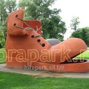 Скульптура Башмак фото