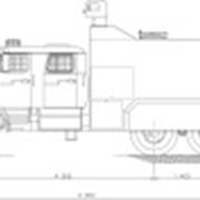 Водометный автомобиль контроля массовых беспорядков RC 6-20 (4320) фото