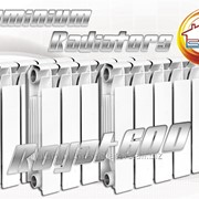 Алюминиевый радиатор Royal-600 60 см, 0,186 квт/сек фото