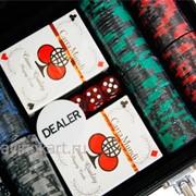 Покерный набор на 200 фишек с номиналом ГД6 - 200 фото