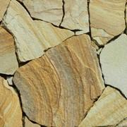 Песчаник Желтый, бело-желтый, коричневый 1-2 см фото