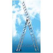 Лестница алюминиевая трехсекционная в Краснодаре