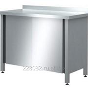 Стол закрытый пристенный серии 700 Chef СРП_З/К 18/7 фото