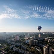 Полет на воздушном шаре над Киевом индивидуальный фото
