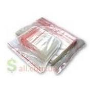 Пакет полиэтиленовый с защёлкой тонкие 6х9см