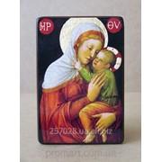 Икона Богородица Заступница код IC-39-15-22 фото