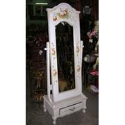 Зеркала мебельные с росписью фото