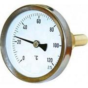 Термометр бим. D 63, L=50 мм, 120 гр., осевой фото