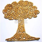 Пеллеты древесные из твердых пород фото