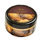 Маска для волос Planeta Organica густая,золотая аюрведическая