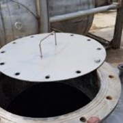 Емкость нержавеющая, объем — 1 куб.м., вертикальна фото