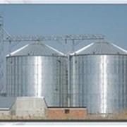 Продажа, зернохранилища с плоским и конусным дном вместимостью от 10 до 20000 тонн, для хранения пшеницы, сои , кукурузы, риса, рапса и других злаковых культур фото