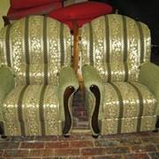 Перетяжка и ремонт кресла фото