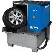 Мойка для колес легковых и грузовых автомобилей с пневматической установкой стабилизации колеса Kart (Польша) фото