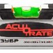 """Уровень ЗУБР """"ACURATE 5"""" коробчатый усиленный, особопрочный профиль из авиационного алюминия, 80см. Артикул: 34595-080 фото"""