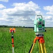 Съемка геодезическая фото
