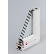 5-ти камерный Rehau - Delight, с двухкамерным энергосберегающим стеклопакетом (3 стекла) фото