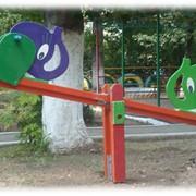 Мини-парк качели фото