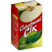 Сок яблочный, ТМ Настоящий сок фото