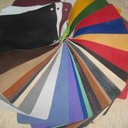 Кожзаменитель текстильный фото