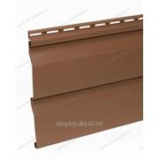 Сайдинг акриловый «Альта-Профиль», красно-коричневый фото