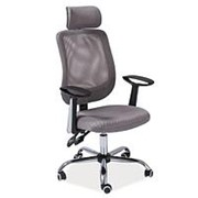 Кресло компьютерное Signal Q-118 (серый) фото