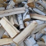 Колотые дрова березы  фото