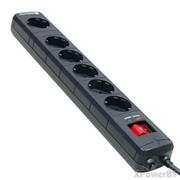 Сетевой фильтр Zwerg SP5B6-180, 6 розеток, кабель 1,8м (3*0,75) фото