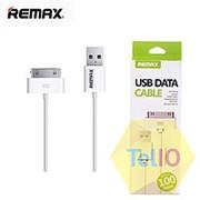 Кабель USB Apple 30-pin -Remax Light Speed для iPhone 4 100 см white Item фото