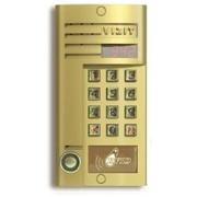 Установка аудиодомофонов VIZIT, вызовная панель БВД 342RT, монтаж переговорных устройств УКП, монтаж аудиодомофона VIZIT, вызывная панель БВД 312R, установка домофонов фото