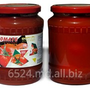 Томаты неочищенные в томатном соке фото