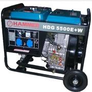 Генератор дизельный Hammer HDG5500E+W фото