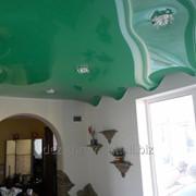 Объемный потолок фото