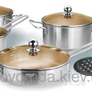 Набор посуды Vitesse Jade VS-1452 (9 предметов) фото