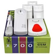 Комплект беспроводной GSM-сигнализации X700 фото