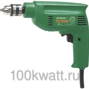 Дрель Hitachi FD10VB (с б/з патроном) 420Вт без кейса фото