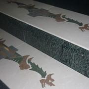 Декоративное панно из керамогранита фото