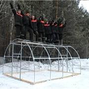 Каркас теплицы Сибирская 6х3х2