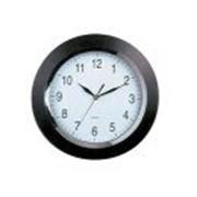 Настенные часы (335mm(13 ), Черный/хром) фото