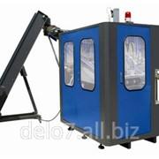 Полуавтоматическая машина выдува ПЭТ бутылок большого объема CM-12 (10-25л) фото