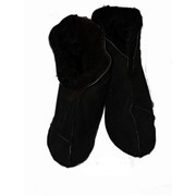 Носки меховые дубленые фото