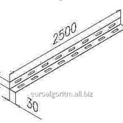 Дистанционная планка к стене и к потолку 100 мм., арт. ДП A35L100T15 фото