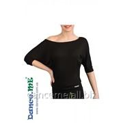 Dance Me Блуза женская БЛ241, вискоза / черный фото