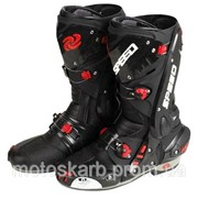 Мотоботы ( Мото ботинки) Probiker Speed Vortice Black А1003 фото