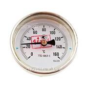 Термометр биметаллический 150°C L=100 фото