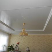 Натяжные потолки двухуровневые фото